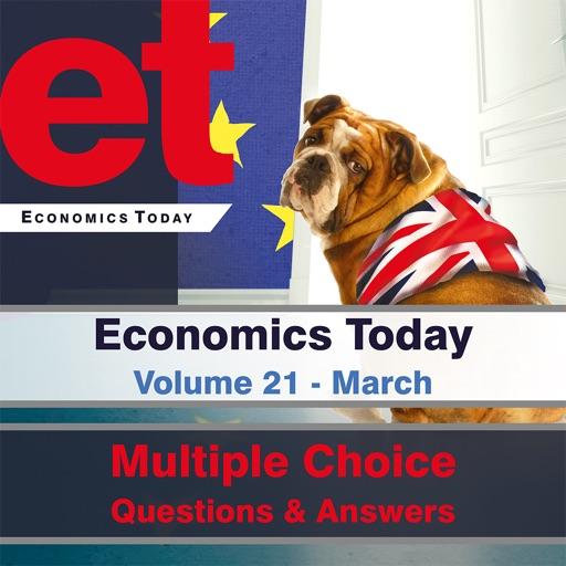 Economics Today Volume 21 March Questions iOS App