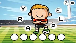 农行动画拼字比赛儿童:学习英语阅读与写作与足球世界杯的数字。游戏的乐趣为孩子和家屏幕截图4