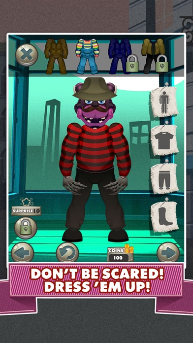 iphone screenshot 2 - Free Halloween Dress Up Games