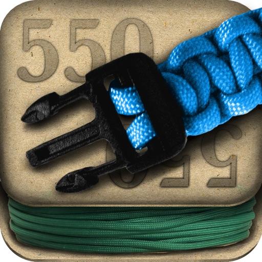 伞绳手链:Paracord: Instructions for 550 Cord Projects