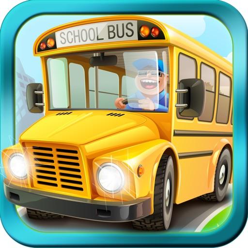 Kids Cars : Toy Bus Parking 3D