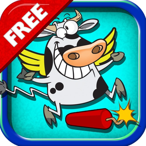 Flying Cows: Cow With No Fear iOS App