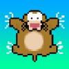 Wechseln-Ein-Maulwurf! (Jump-A-Mole!)  - Spielen Sie ein kostenloses 8-Bit Spiel Springen! Springen über die Schnelle, Rasendes Wolf für den besten Super-Sprünge Punkte!
