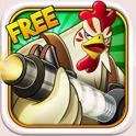 Cluck 'n' Load: Chicken & Egg Defense, Free Game icon