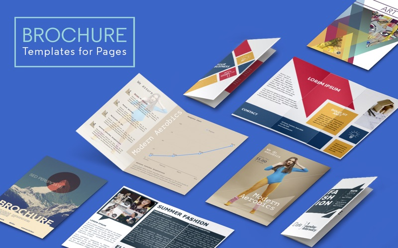 Brochure templates for pages on the mac app store for Apple pages brochure templates