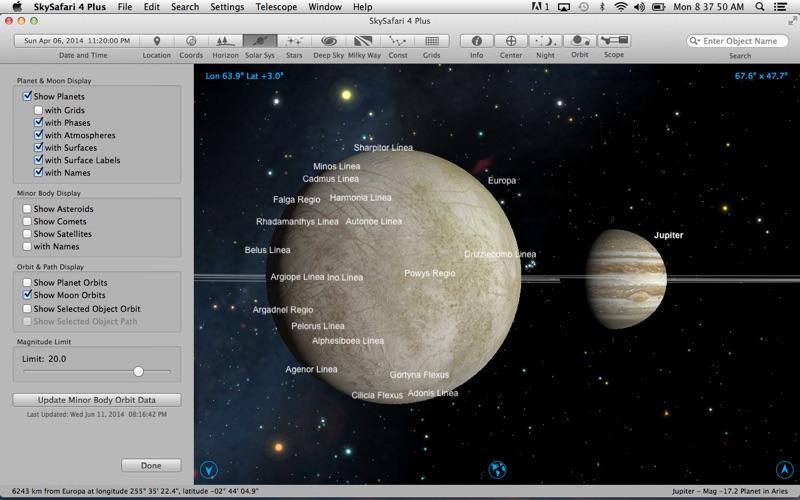 Screenshot #1 pour SkySafari 4 Plus