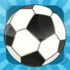 Juego para los niños a aprender sobre el fútbol