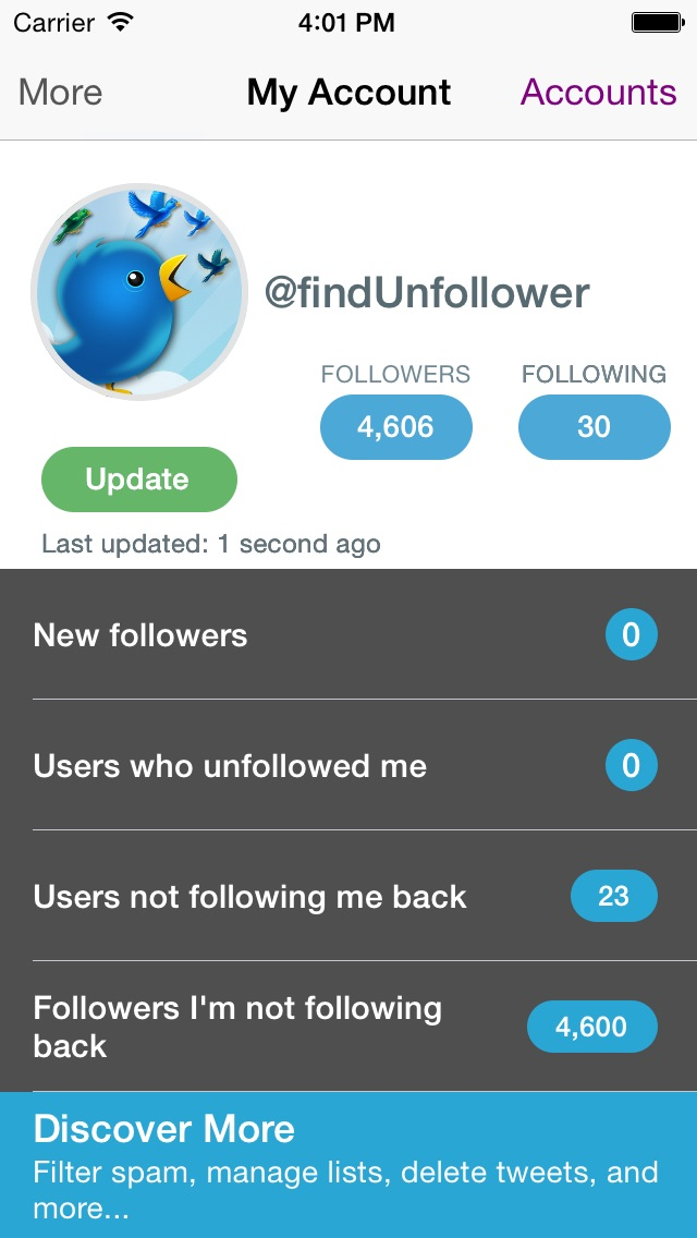 download Find Unfollowers And Track New Followers On Twitter - Pro Edition apps 4