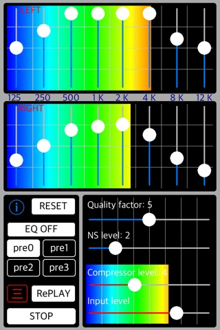 Listening Tuner - sound capture amplifier screenshot 1