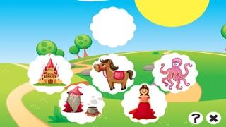 Screenshot of Cosa C'è di Sbagliato Nel Fairy Tale World? Trova Gli Errori! Formazione Libero Gioco Para Bambini5