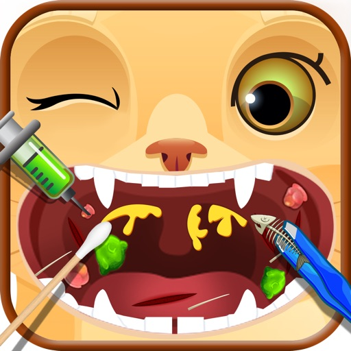 Crazy Throat Doctor for Pets - Kids Game iOS App