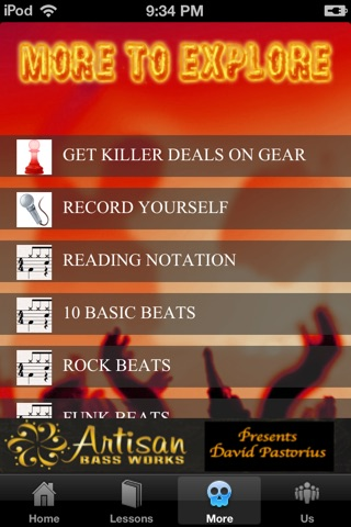 Drum Lessons screenshot 2