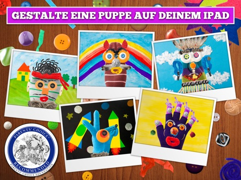 Puppet Workshop - Kreative App für Kinder Screenshot