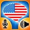 iSpeak American English HD: Interactive conversation course - learn to speak with vocabulary audio lessons, intensive grammar exercises and test quizzes