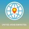 United Arab Emirates Map - Offline Map, POI, GPS, Directions united arab emirates map