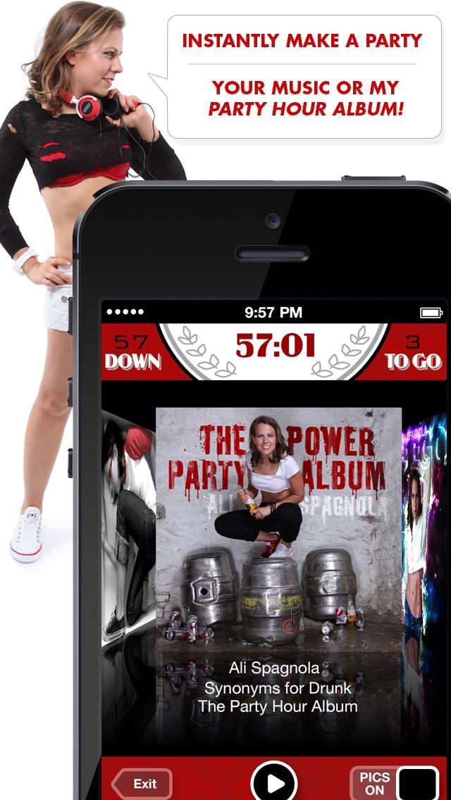 Ali's Power Album: Hour Party Playlist Maker Screenshot