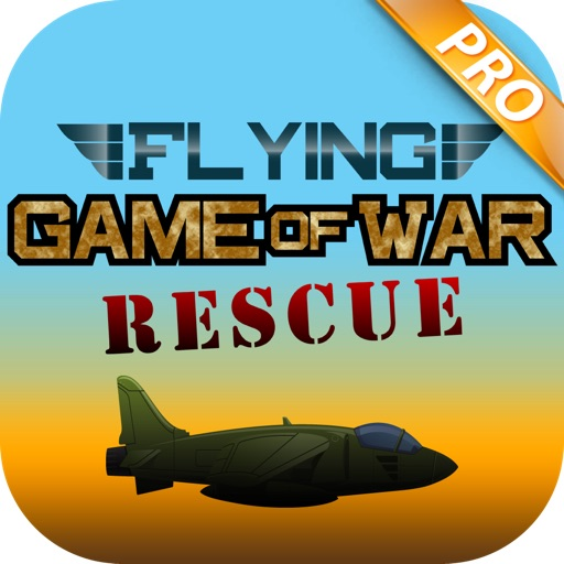 Flying Game of War Rescue PRO - Fast Plane Dodge iOS App