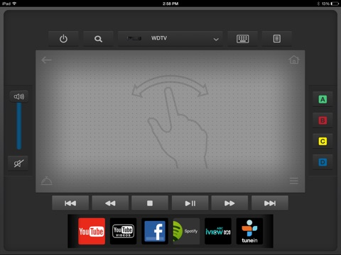Wd tv remote on the app store ipad screenshot 3 sciox Gallery