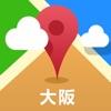 Osaka Offline Map(offline map, subway map, GPS, tourist attractions information)