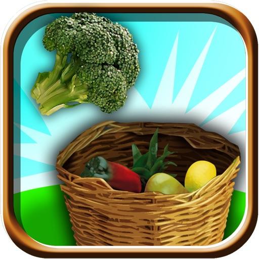 Naughty Farmer Vegetable Toss - Flick Jerk Saga iOS App