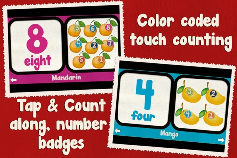 Toddler Counting 123 - Fruit Salad screenshot 4