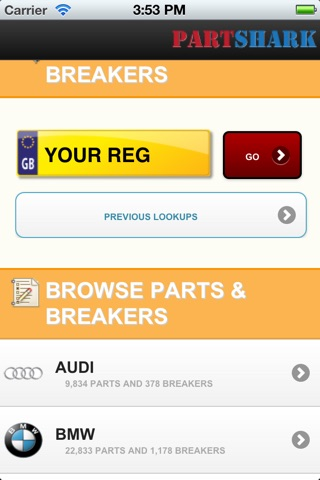 PartShark Car Spares screenshot 1