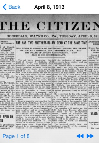 Vintage Newspapers screenshot 3