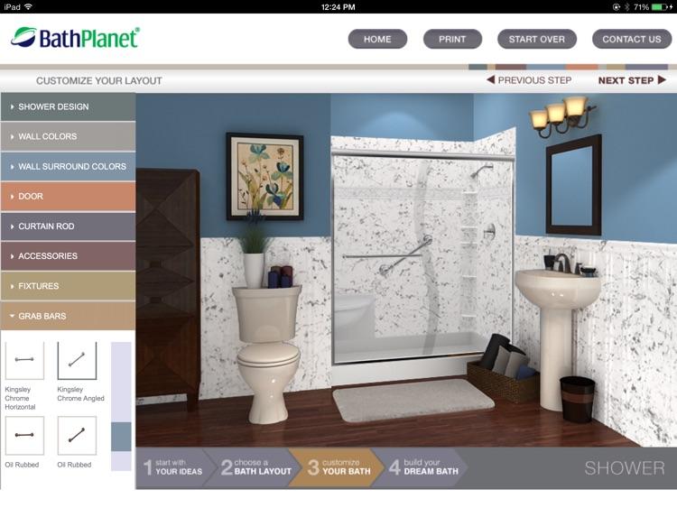 bath planet design