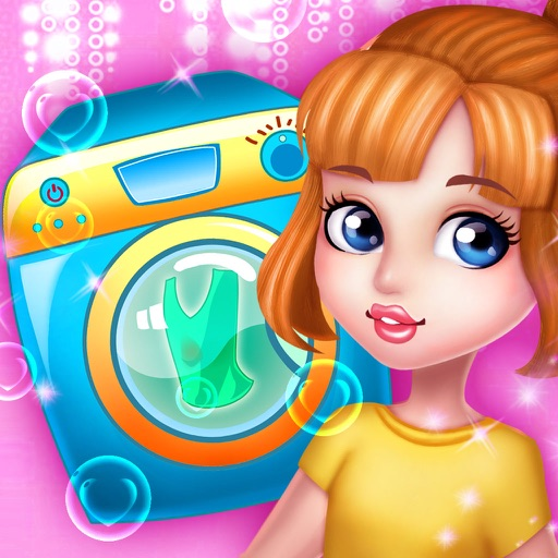 Princess  Washing Clothes iOS App