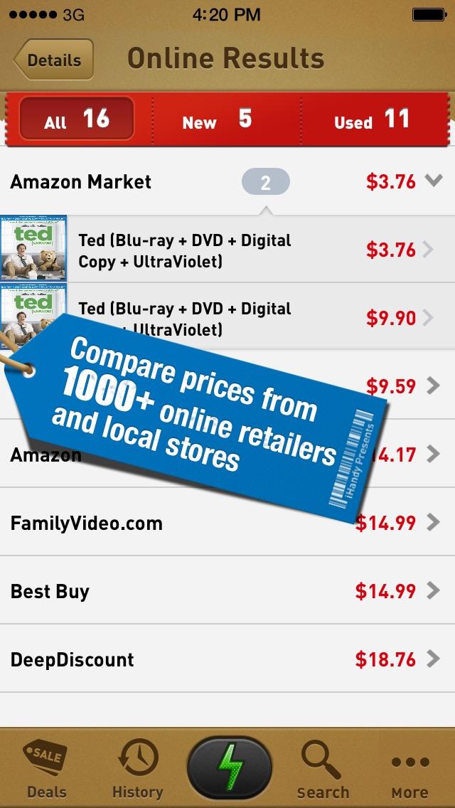 download Quick Scan Pro - Barcode Scanner. Deal Finder. Money Saver. apps 4