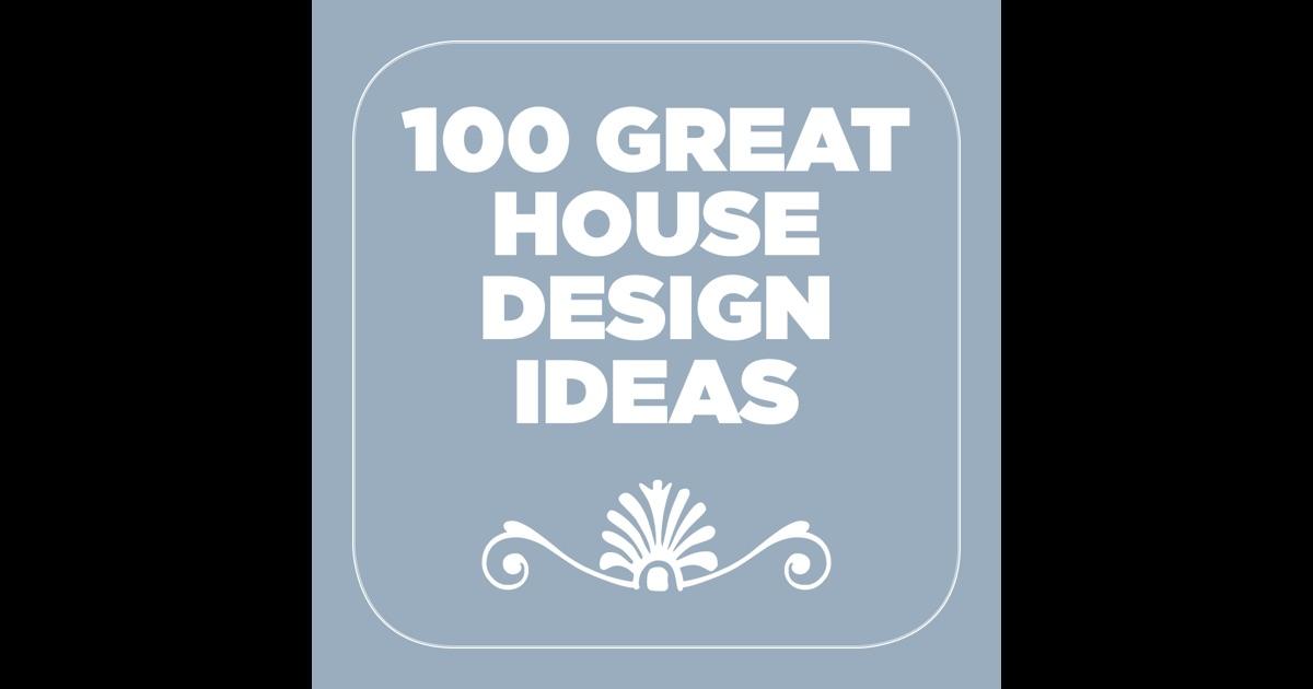 100 great house design ideas app store