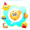 Hidden Emoticon Sticker Secret Smileys for Skype Lite