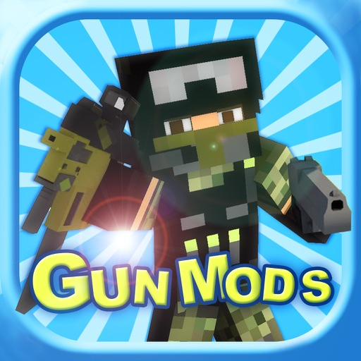 Block Gun Mod Pro - Best 3D Guns Mods Guides for Minecraft PC Edition