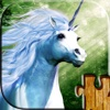 Unicorn puzzles - Relaxing fantasy photo picture jigsaw puzzles for kids and adults puzzles