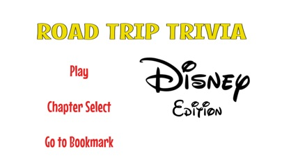 Road Trip Trivia Disney Edition Screenshot