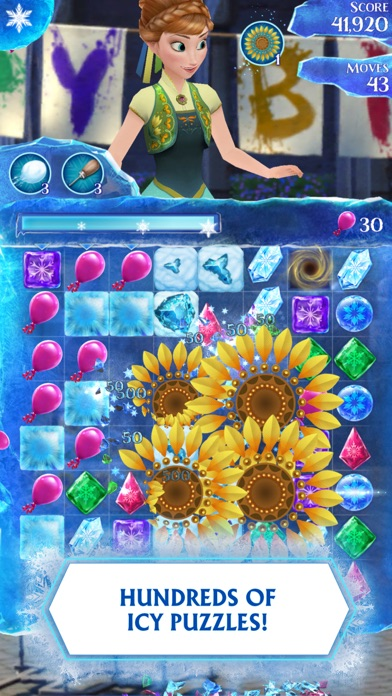 Screenshots of Frozen Free Fall for iPhone