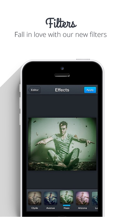 Screenshots of Square Sized - Crop & export entire picture or video without cropping (Insta.gram edition) for iPhone