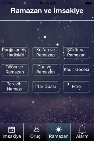 Ramazan 2016 - imsakiye – oruç screenshot 3
