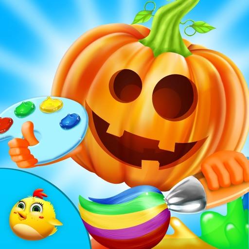 Halloween Paint For Kids iOS App