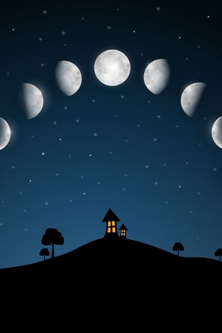 Sky and Moon phases calendar screenshot 1
