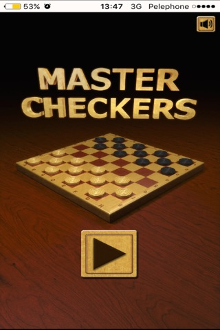 Checkers - Deluxe Spanish Checkers app screenshot 1