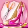 高跟鞋鞋 – 女孩遊戲: 打造時尚鞋在你的時尚美容沙龍