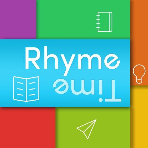 Rhyme Time - Rhyming Dictionary iOS App