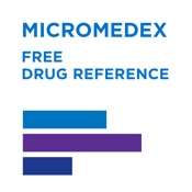 Free Micromedex® Drug Reference for Internet Subscribers Mobile App Icon