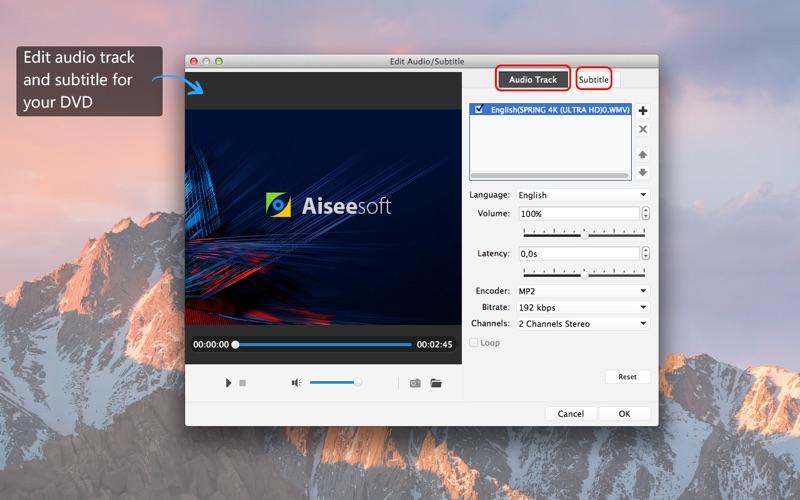 Screenshot #4 for Aiseesoft DVD Creator - Burn MP4 to DVD