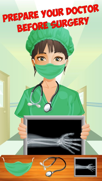 download Crazy Wrist Surgery – Surgeon operation and free doctor game with body X ray appstore review