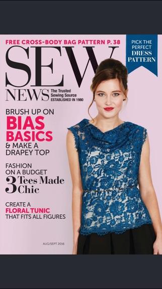 Sew News Magazine review screenshots