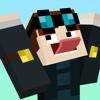 Dantdm Skins Free for Minecraft - Star Wars Edition