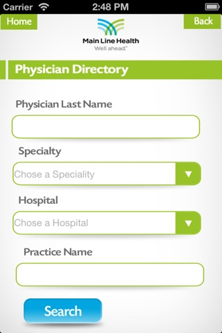 MLH Physician screenshot 2