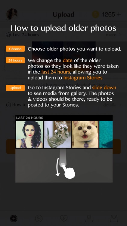 Stories Uploader for Instagram from Camera Roll - NO 24 hours Limit